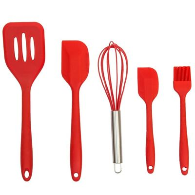 China Food Grade Silicone Kitchen Utensils Soft Safe Silicone Cooking Tool Reusable Kitchenware factory