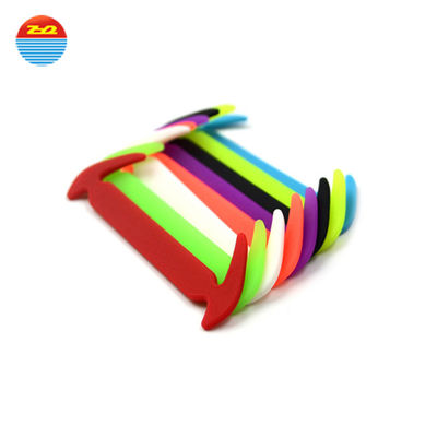 China Unisex Lazy Colorful Silicone Gifts No Tie Shoelace For Adults Children factory