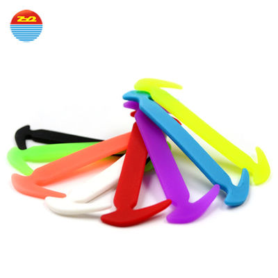 Grass Hook Creative Lazy Silicone Gifts No Tie Flat Custom Printed Elastic Shoelaces