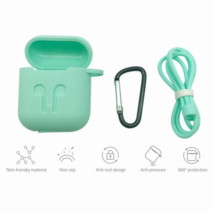 Waterproof Silicone Case Silicon Cover Silicone Cover Protector Sleeve for Airpod Earphone