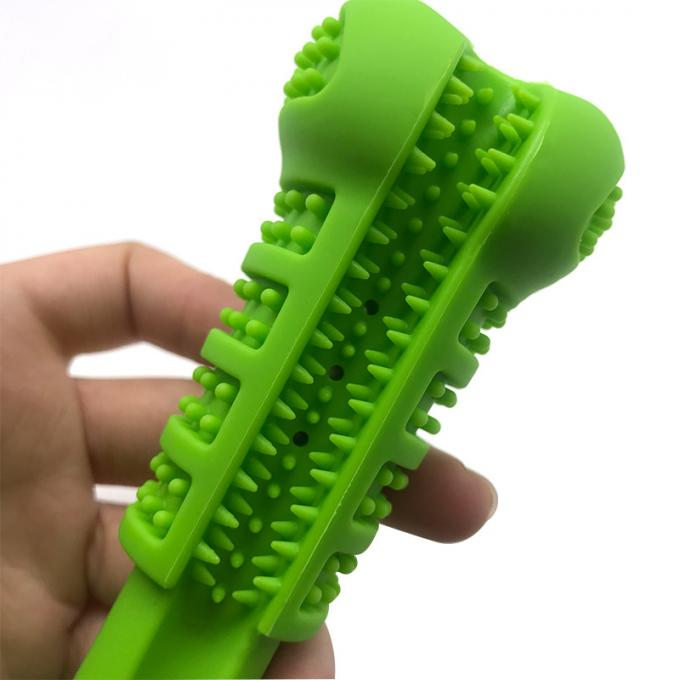 Non - Toxic Natural Silicone Pet Supplies Toothbrush Brush Tool Brushing Stick