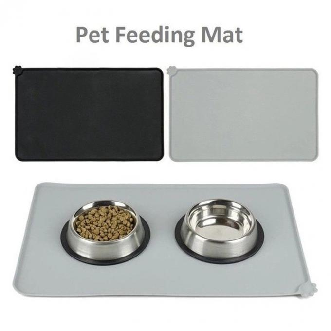 Custom Silicone Pet Supplies Bowl Mat Non - Stick Food Pad FDA Approved